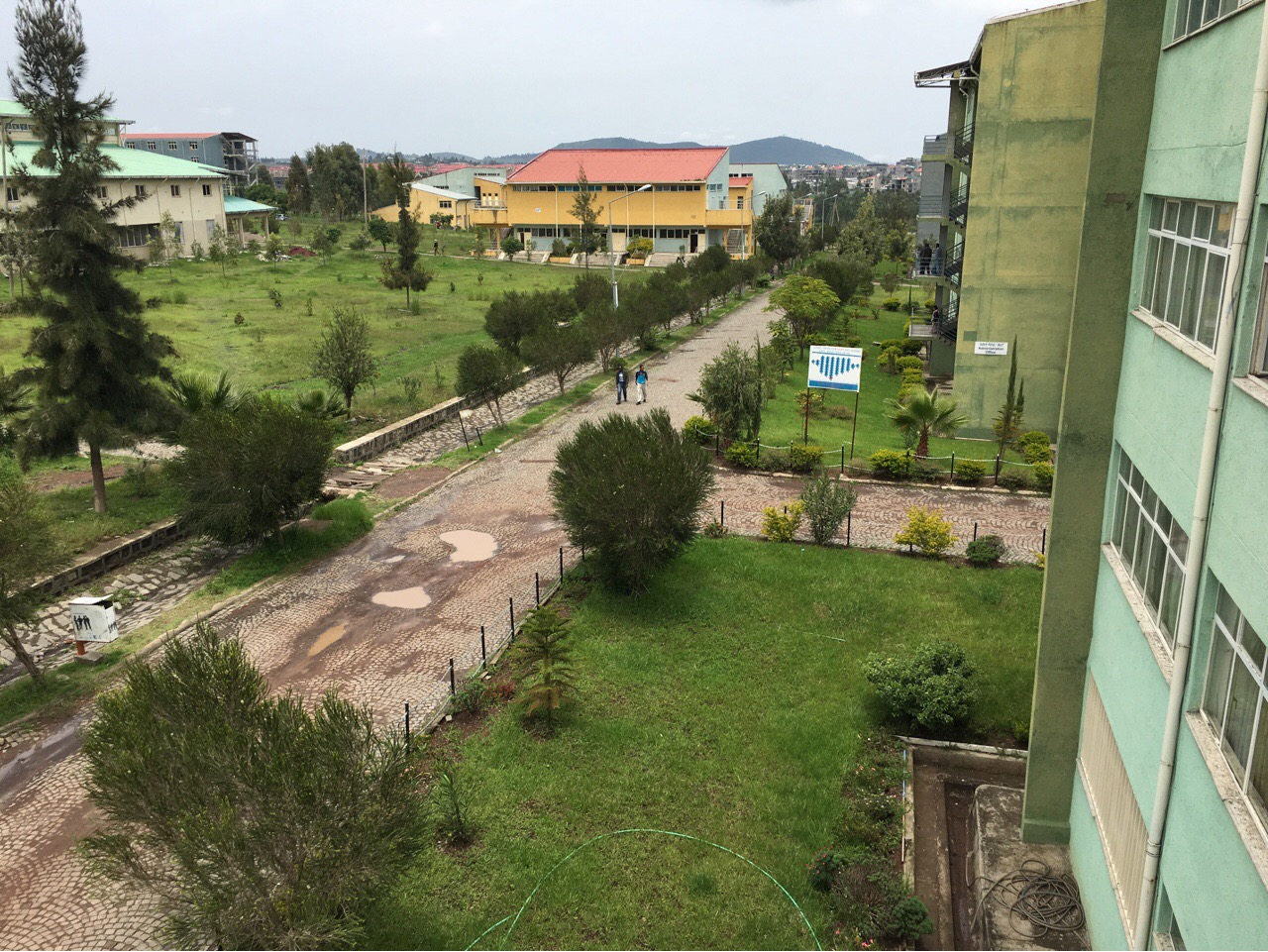 view of the campus